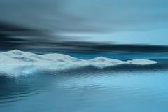 horizontal froid Photo libre de droits