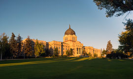 Horizontal Front View Capital Dome Helena Montana State Building Stock Photography