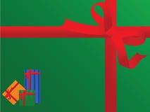 Horizontal gift background Stock Photos