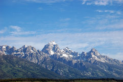 Horizontal grand de Tetons Image libre de droits