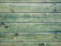 Horizontal green pine boards close up shot stock photography