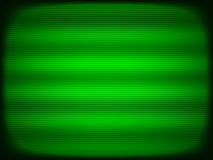 Horizontal green tv scanlines illustration background stock illustration