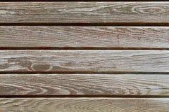 Horizontal grey wood Stock Images