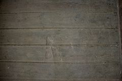 Horizontal grey wood planks. Abstract background and texture royalty free stock photos