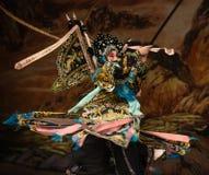 "Horizontal gun- Beijing Opera"" Women Generals of Yang Family"" Royalty Free Stock Photography"