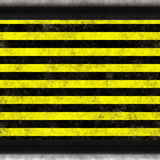 Horizontal hazard border Royalty Free Stock Images