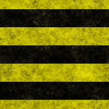 Horizontal hazard stripes seamless texture Royalty Free Stock Photography