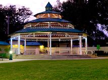 Horizontal HDR gazebo Royalty Free Stock Image