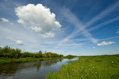 horizontal hollandais Photos libres de droits