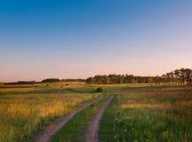 Horizontal idyllique en Russie photo libre de droits