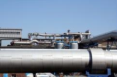 Horizontal industriel - pipe Photographie stock