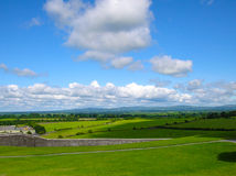 Horizontal irlandais Photo libre de droits