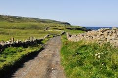 Horizontal irlandais, Co clare Photographie stock