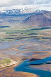 Horizontal islandais Images libres de droits