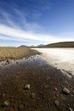 horizontal islandic Photo libre de droits