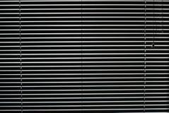 Horizontal jalousie. Texture of Closed Horizontal jalousie Royalty Free Stock Photos
