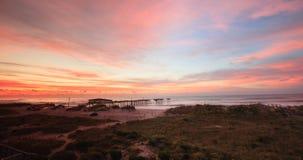 Horizontal la Caroline du Nord côtière photo stock