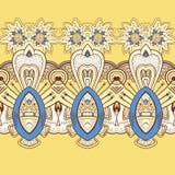 Horizontal lace steampunk ornament, ornamental Royalty Free Stock Photos