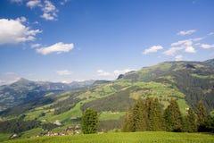 horizontal le Tirol de l'Autriche Photographie stock libre de droits