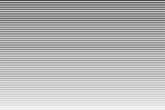 Horizontal line. Lines halftone pattern with gradient effect. Black and white stripes royalty free illustration