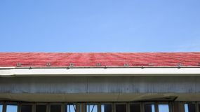 Horizontal Line of Roof Stock Images