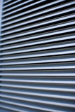 Horizontal lines. From a vent, slightly oblique stock image