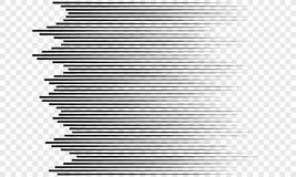 Horizontal speed lines pattern vector background royalty free illustration
