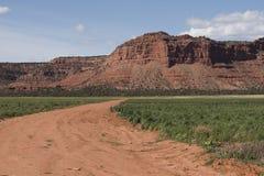 Horizontal méridional de l'Utah Image libre de droits
