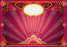 Horizontal magic circus background stock image