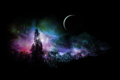Horizontal magique Images libres de droits