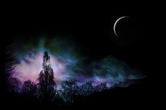 Horizontal magique Photographie stock libre de droits