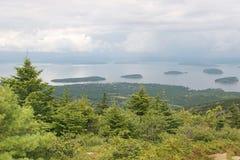 horizontal Maine photo libre de droits
