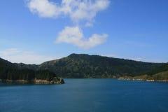 Horizontal majestueux de montagne Photo libre de droits