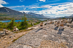 Horizontal majestueux, Skagway Alaska Photo stock