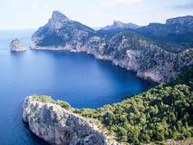 Horizontal Majorque Images libres de droits