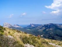 Horizontal Majorque Photos libres de droits