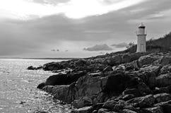 Horizontal marin sauvage Photographie stock