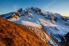Horizontal merveilleux de l'hiver Photos libres de droits