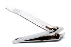 Horizontal metal nippers Royalty Free Stock Photography