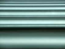 Horizontal metal pipes Royalty Free Stock Photo