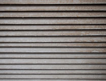 Horizontal Metal Texture. On grey color Stock Photo