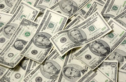 Horizontal Money Background Royalty Free Stock Images