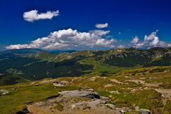 Horizontal montagneux image stock