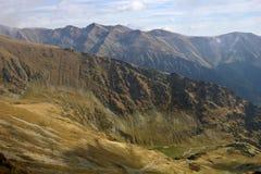 Horizontal montagneux images libres de droits