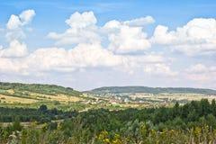 Horizontal montagneux Photographie stock libre de droits