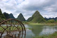 Horizontal montagneux de Cao Bang images libres de droits