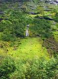 Horizontal montagneux de la Norvège nordique images stock