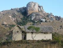 Horizontal montagneux malgache images libres de droits