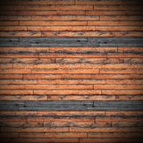 Horizontal mount of wooden floor Stock Images