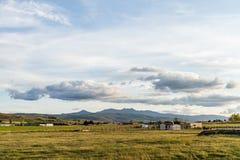 Horizontal nuageux Photographie stock